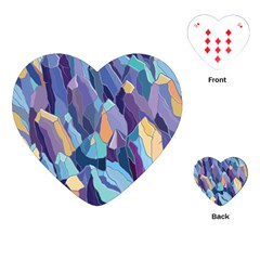 Abstract Nature 15 Playing Cards (heart)  by tarastyle