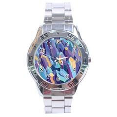 Abstract Nature 15 Stainless Steel Analogue Watch by tarastyle