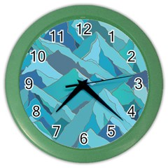 Abstract Nature 17 Color Wall Clocks by tarastyle
