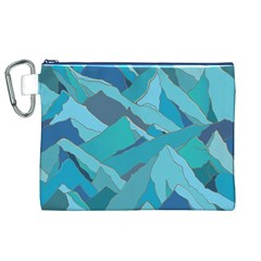 Abstract Nature 17 Canvas Cosmetic Bag (xl) by tarastyle