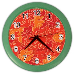 Abstract Nature 18 Color Wall Clocks by tarastyle