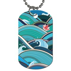 Abstract Nature 19 Dog Tag (two Sides) by tarastyle