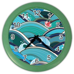 Abstract Nature 19 Color Wall Clocks by tarastyle