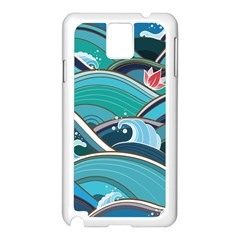 Abstract Nature 19 Samsung Galaxy Note 3 N9005 Case (white) by tarastyle