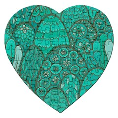Abstract Nature 21 Jigsaw Puzzle (heart) by tarastyle