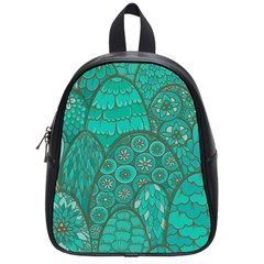 Abstract Nature 21 School Bag (small) by tarastyle