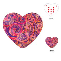 Abstract Nature 22 Playing Cards (heart)  by tarastyle