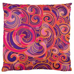Abstract Nature 22 Standard Flano Cushion Case (one Side) by tarastyle