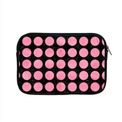 Circles1 Black Marble & Pink Watercolor (r) Apple Macbook Pro 15  Zipper Case by trendistuff