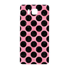 Circles2 Black Marble & Pink Watercolor Samsung Galaxy Alpha Hardshell Back Case by trendistuff