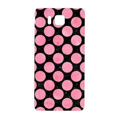 Circles2 Black Marble & Pink Watercolor (r) Samsung Galaxy Alpha Hardshell Back Case by trendistuff