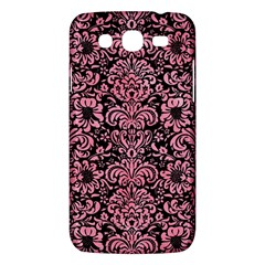 Damask2 Black Marble & Pink Watercolor (r) Samsung Galaxy Mega 5 8 I9152 Hardshell Case  by trendistuff