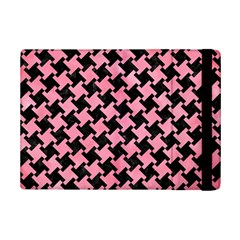 Houndstooth2 Black Marble & Pink Watercolor Ipad Mini 2 Flip Cases by trendistuff