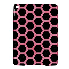 Hexagon2 Black Marble & Pink Watercolor (r) Ipad Air 2 Hardshell Cases by trendistuff