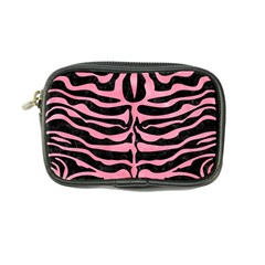 Skin2 Black Marble & Pink Watercolor (r) Coin Purse by trendistuff