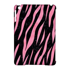 Skin3 Black Marble & Pink Watercolor (r) Apple Ipad Mini Hardshell Case (compatible With Smart Cover) by trendistuff