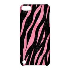 Skin3 Black Marble & Pink Watercolor (r) Apple Ipod Touch 5 Hardshell Case With Stand by trendistuff