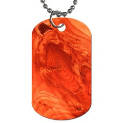 Fantastic Wood Grain 917a Dog Tag (two Sides) by MoreColorsinLife