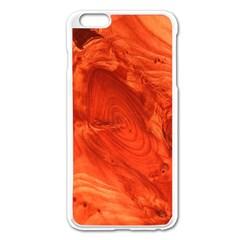 Fantastic Wood Grain 917a Apple Iphone 6 Plus/6s Plus Enamel White Case by MoreColorsinLife