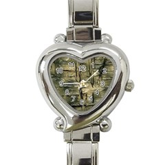 Grannys Hut   Structure 2a Heart Italian Charm Watch by MoreColorsinLife