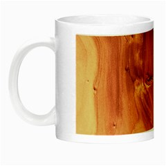 Fantastic Wood Grain 917b Night Luminous Mugs by MoreColorsinLife