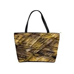 Grannys Hut   Structure 1a Shoulder Handbags by MoreColorsinLife