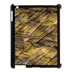 Grannys Hut   Structure 1a Apple Ipad 3/4 Case (black) by MoreColorsinLife