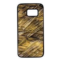 Grannys Hut   Structure 1a Samsung Galaxy S7 Black Seamless Case by MoreColorsinLife