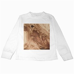 Fantastic Wood Grain 917c Kids Long Sleeve T Shirts by MoreColorsinLife