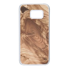 Fantastic Wood Grain 917c Samsung Galaxy S7 White Seamless Case by MoreColorsinLife