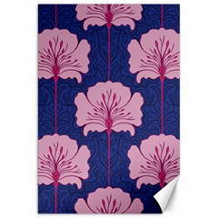 Beautiful Art Nouvea Floral Pattern Canvas 20  X 30   by 8fugoso