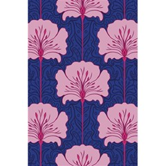 Beautiful Art Nouvea Floral Pattern 5 5  X 8 5  Notebooks by 8fugoso