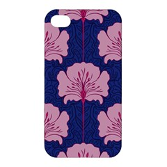 Beautiful Art Nouvea Floral Pattern Apple Iphone 4/4s Hardshell Case by 8fugoso