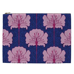 Beautiful Art Nouvea Floral Pattern Cosmetic Bag (xxl)  by 8fugoso