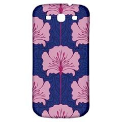 Beautiful Art Nouvea Floral Pattern Samsung Galaxy S3 S Iii Classic Hardshell Back Case by 8fugoso