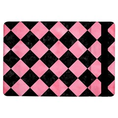 Square2 Black Marble & Pink Watercolor Ipad Air Flip