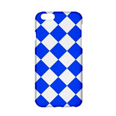Blue White Diamonds Seamless Apple Iphone 6/6s Hardshell Case by Onesevenart