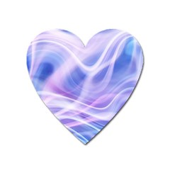 Abstract Graphic Design Background Heart Magnet by Onesevenart