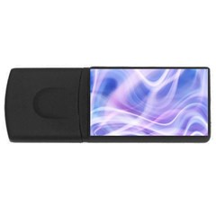 Abstract Graphic Design Background Rectangular Usb Flash Drive by Onesevenart