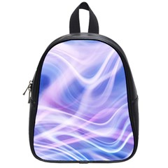 Abstract Graphic Design Background School Bag (small) by Onesevenart
