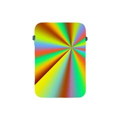 Burst Radial Shine Sunburst Sun Apple Ipad Mini Protective Soft Cases by Onesevenart