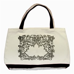 Bouquet Flower Decoration Pattern Basic Tote Bag (two Sides) by Onesevenart
