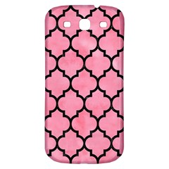 Tile1 Black Marble & Pink Watercolor Samsung Galaxy S3 S Iii Classic Hardshell Back Case by trendistuff