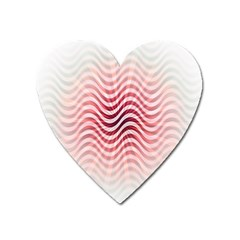 Art Abstract Art Abstract Heart Magnet by Onesevenart