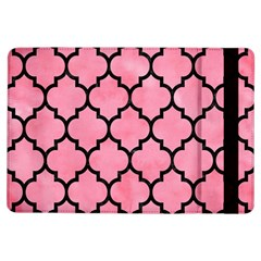 Tile1 Black Marble & Pink Watercolor Ipad Air Flip by trendistuff