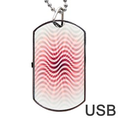 Art Abstract Art Abstract Dog Tag Usb Flash (one Side) by Onesevenart