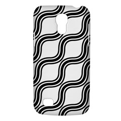 Diagonal Pattern Background Black And White Galaxy S4 Mini by Onesevenart