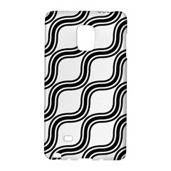 Diagonal Pattern Background Black And White Galaxy Note Edge by Onesevenart