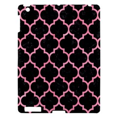 Tile1 Black Marble & Pink Watercolor (r) Apple Ipad 3/4 Hardshell Case by trendistuff