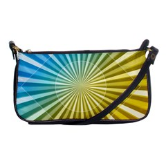 Abstract Art Art Radiation Shoulder Clutch Bags by Onesevenart